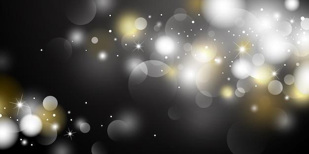 Fond de lumières abstraites bokeh
