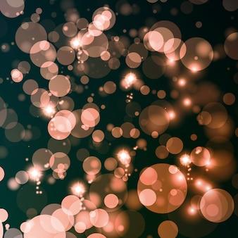 Fond de lumières abstraites