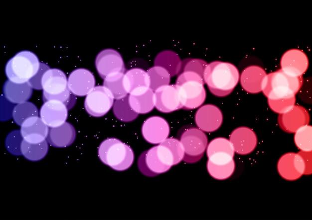 Fond de lumières bokeh abstrait