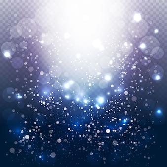 Fond de lumières bulle moderne