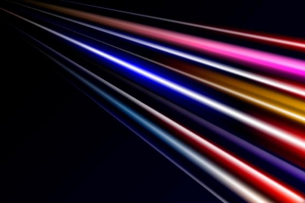Fond de lumières fantaisie haute vitesse