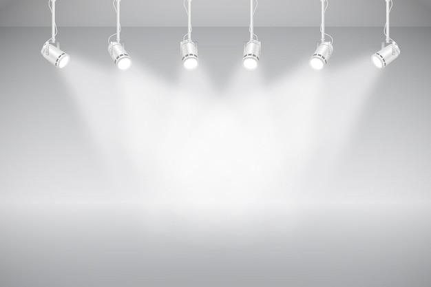 Fond de lumières spot