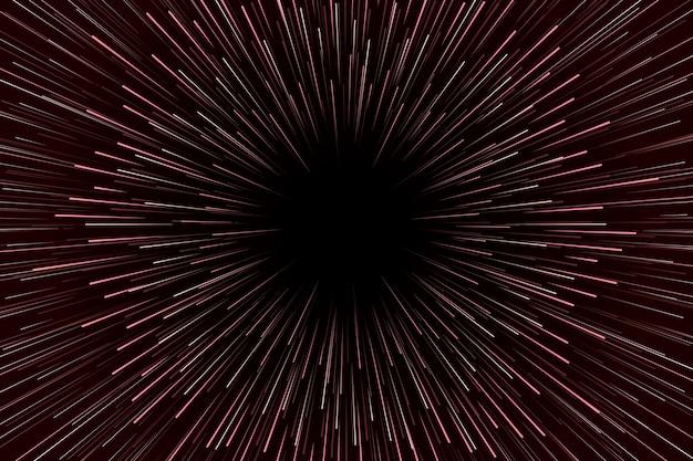Fond de lumières de vitesse marron dégradé