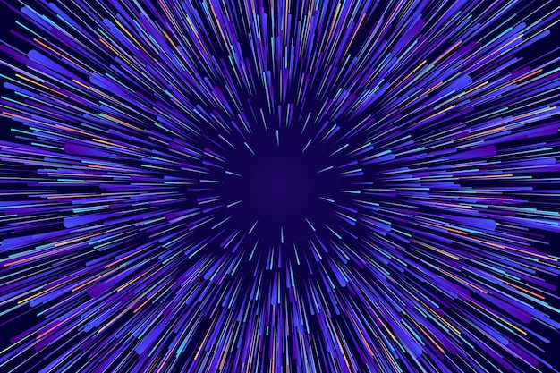 Fond de lumières de vitesse