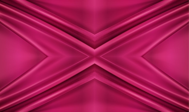 Fond de luxe 3d illustration textile tourbillonné réaliste