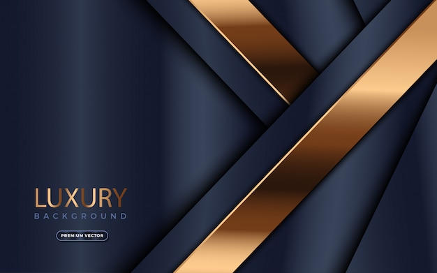 Fond de luxe avec des lignes dorées.