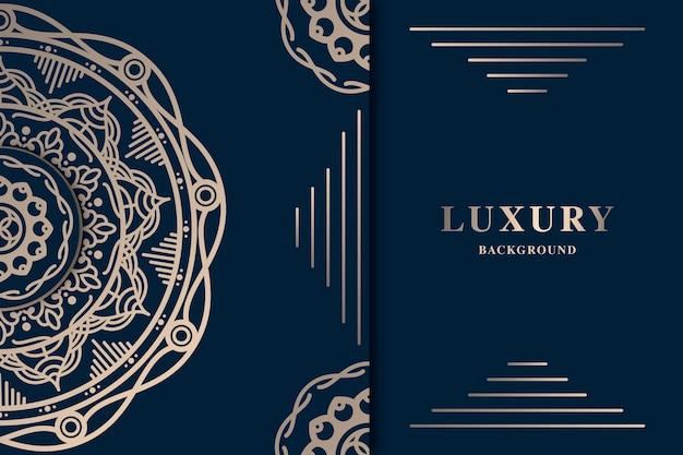 Fond de luxe avec mandala