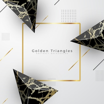 Fond de luxe en marbre doré