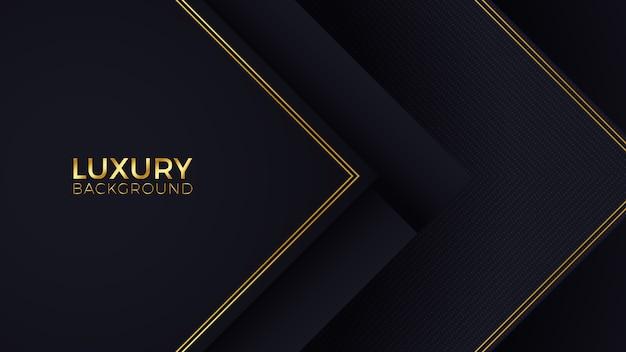 Fond de luxe en or noir