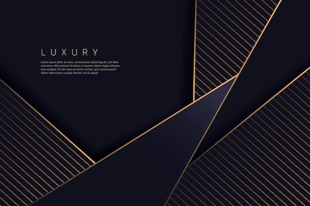 Fond de luxe or