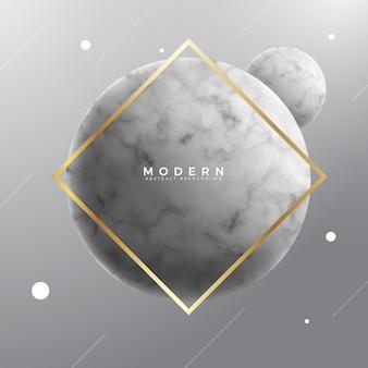 Fond de luxe sphère de marbre