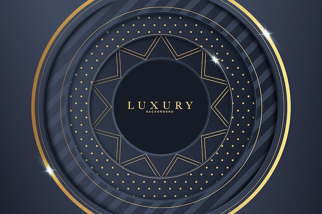 Fond de luxe de style papier