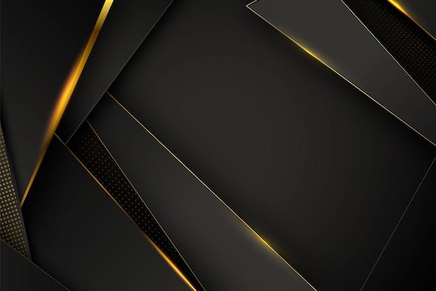 Fond luxueux avec des détails dorés