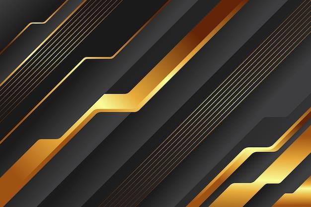Fond luxueux doré premium