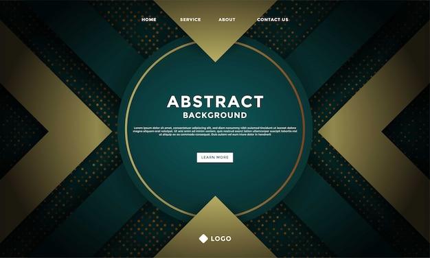 Fond de maille de luxe abstrait avec texture hexagonale