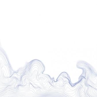 Fond de maille ondulée vecteur dynamique