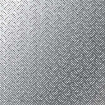 Fond de maille de texture de motif perforé en aluminium en acier inoxydable en métal gris pour grille industrielle ou surface de grille argentée. modèle sans couture