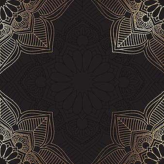Fond de mandala décoratif