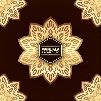 Fond de mandala élégant