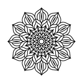 Fond de mandala facilement modifiable et redimensionnable
