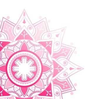 Fond de mandala indien