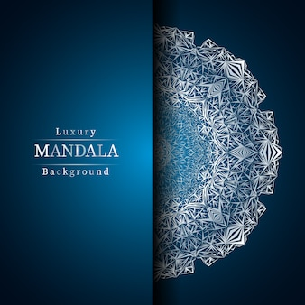 Fond de mandala de luxe créatif