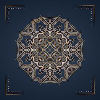 Fond de mandala de luxe pour la couverture du livre, invitation de mariage.