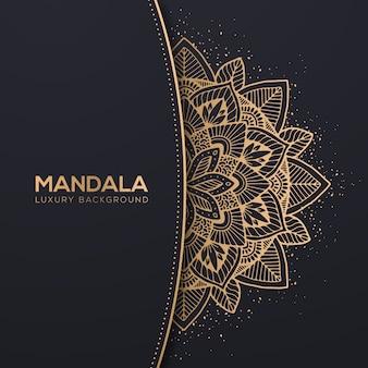 Fond de mandala de luxe