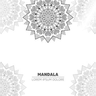 Fond avec mandala