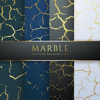 Fond de marbre doré textures