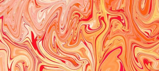 Fond de marbre liquide acide abstrait