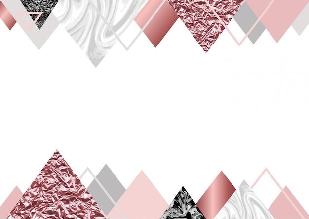 Fond de marbre rose