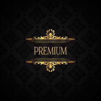 Fond de marque de luxe élégant