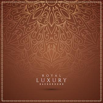 Fond marron élégant et luxueux