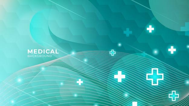 Fond médical abstrait de soins de santé
