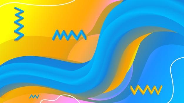 Fond de mélange coloré abstrait 1