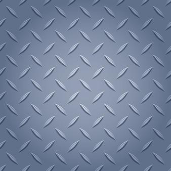 Fond en métal diamant - couleur grise.