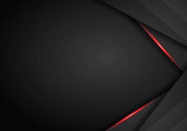 Fond métal noir et rouge