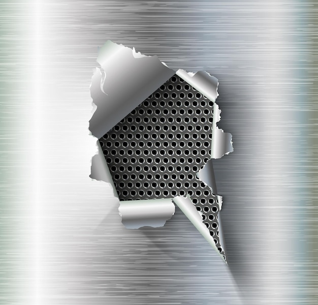 Fond de métal