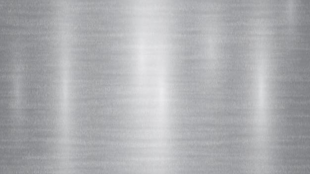 Fond métallique abstrait avec des reflets dans des couleurs grises