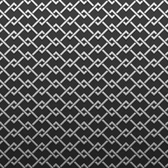 Fond métallique argent / platine avec motif géométrique. élégant style de luxe.