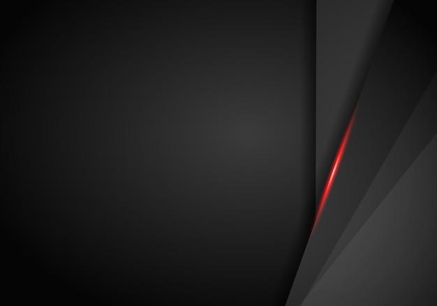 Fond métallique noir et rouge.