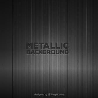 Fond métallique noir