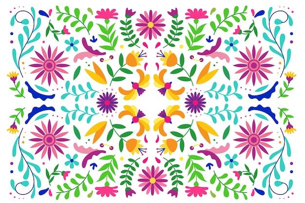 Fond mexicain coloré