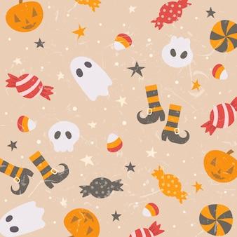 Fond mignon d'halloween