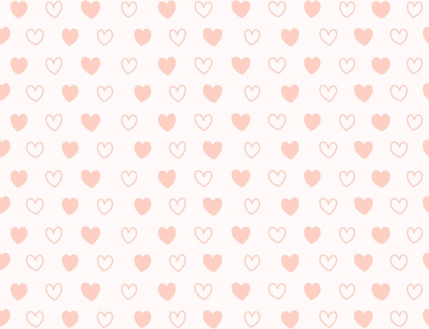 Fond de mini coeur.