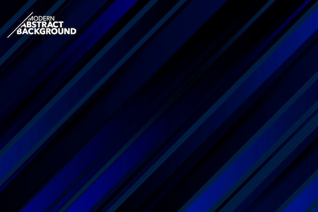Fond minimaliste abstrait bleu foncé moderne