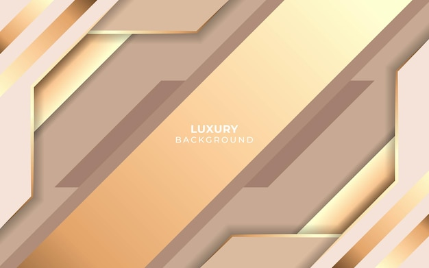 Fond minimaliste abstrait luxe or