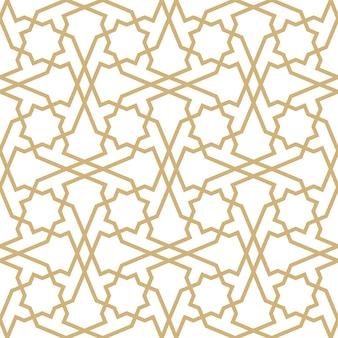 Fond avec modèle sans couture dans le style islamique.