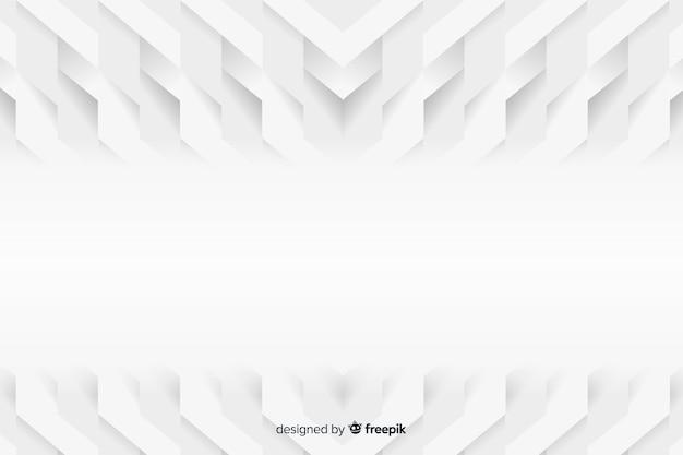 Fond de modèles géométriques dans le style de papier